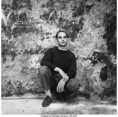 John Deakin, 'Angelo Ippolito, Rome, August', 1950