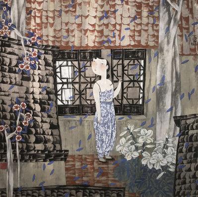Shi Jing, 'Garden Flowers', 1993