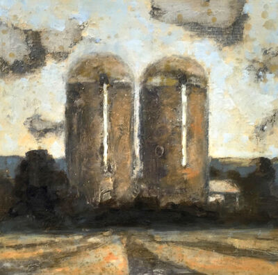 David Konigsberg, 'Two Silos', 2016