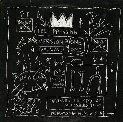 Jean-Michel Basquiat, 'Beat Bop Album Cover', 2001