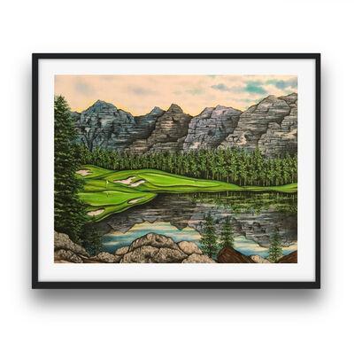 Valentino Dixon, 'Limited Edition Print - Valentino's Mountains', 2014