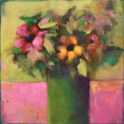 JoAnn Augur, 'Des Fleurs', 2018