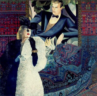 Daniele Akmen, 'Tamara et J.M.G. le Clézio', 1993
