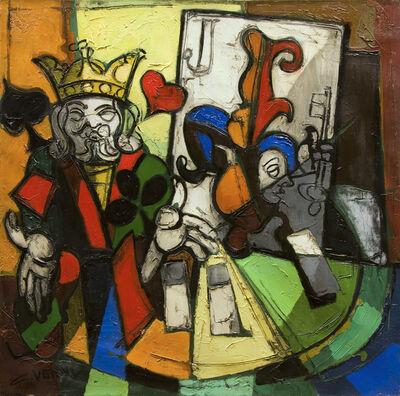 Claude Venard, 'Roi et Joker', 1972