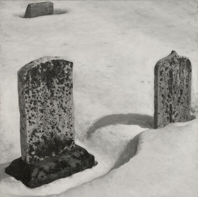 A.J. Fries, 'Graves in Snow # 1,', 2011