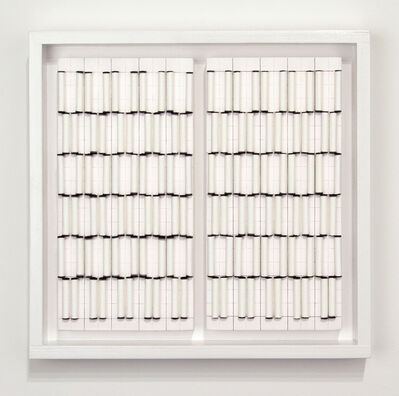 Liliya Lifanova, 'Untitled (rolled filter paper, black tips) diptych', 2012