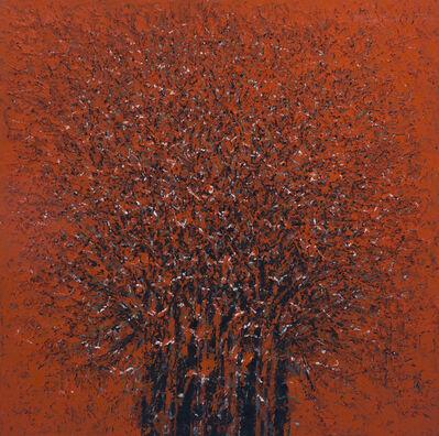 Ablade Glover, 'Red Forest (Bird Sanctuary)', 2016
