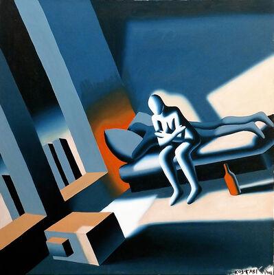 Mark Kostabi, 'SERENE DEJA VU', 1988