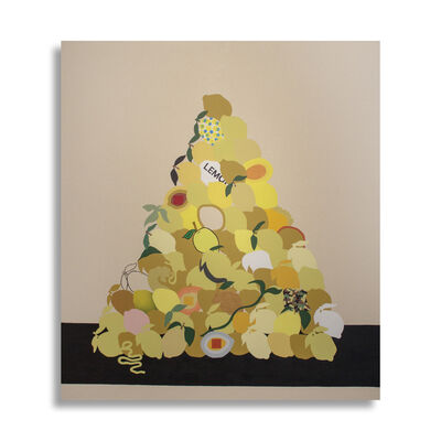 Stephen D'Onofrio, 'Still Life with Stacked Lemons', 2018