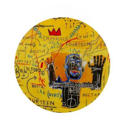 Jean-Michel Basquiat, 'All Colored Cast plate'