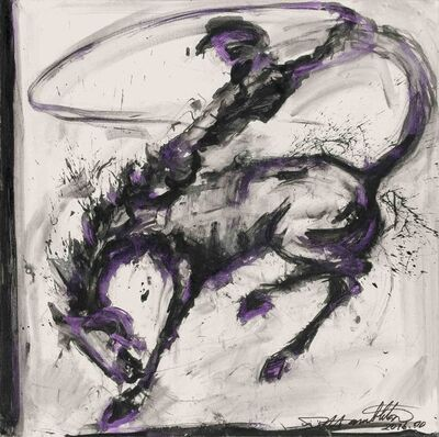 Richard Hambleton, 'Horse and Rider', 2016