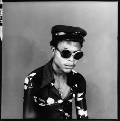 Ambroise Ngaimoko, 'Un jeune homme dans le vent '