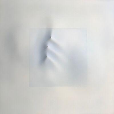Sam Richardson, 'Snow Mound: Three Poles ', 1975