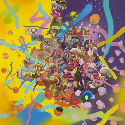 Yoh Nagao, 'Floating Colors IV', 2016