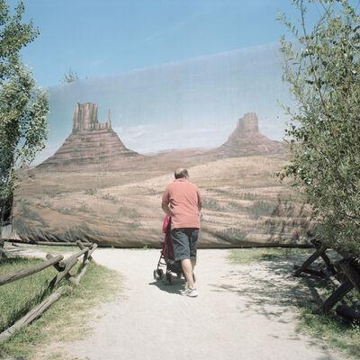 Naomi Harris, 'Monument Valley, Cowboyland, Voghera, Italy', 2014