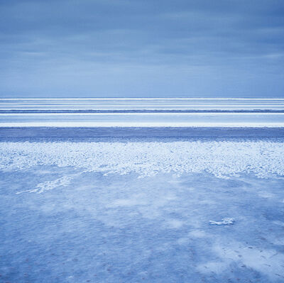 Andrey Belkov, 'Blue and white stripes, rybinsk sea, Russia ', 2011