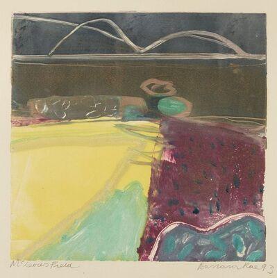 Barbara Rae, 'McLeod's Field', 1993