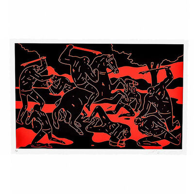 Cleon Peterson, 'River Of Blood', 2015