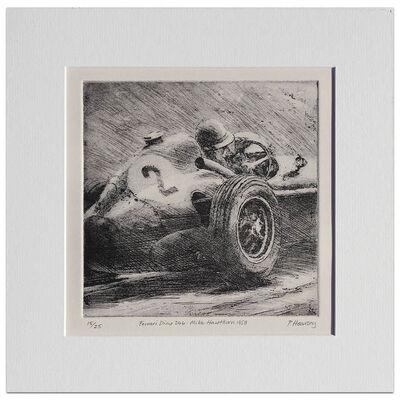 Peter Hearsey, 'Mike Hawthorn Ferrari Dino - Etching', 2015
