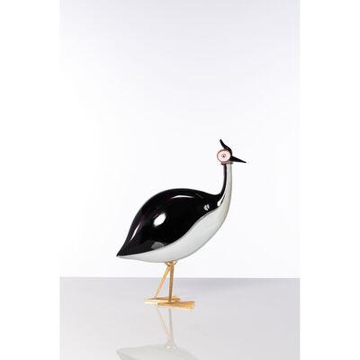 Licio Zanetti, 'Guinea fowl, Sculpture', circa 1970