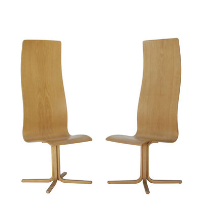Arne Jacobsen, 'Pair of Oxford chairs', 1962
