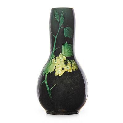 Sara Sax, 'Early Sea Green vase with prunus branches (uncrazed), Cincinnati, OH', 1898