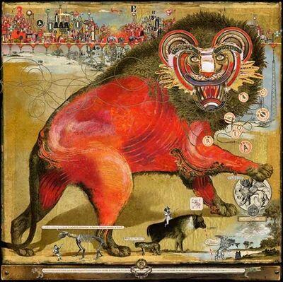 Mallart Bruno, 'Red Lion', 2017