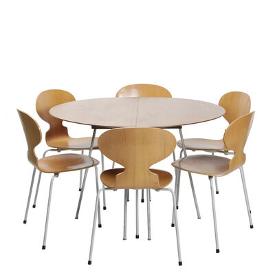 Arne Jacobsen, 'Dining group', ca. 1951