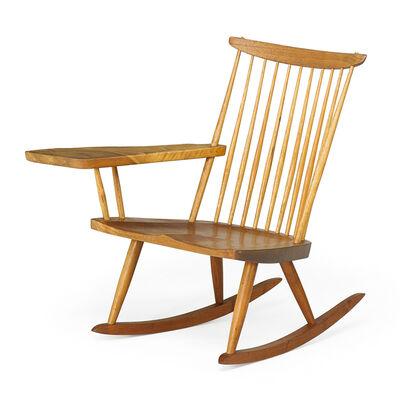 George Nakashima, 'Lounge Chair Rocker with Arm', 1976
