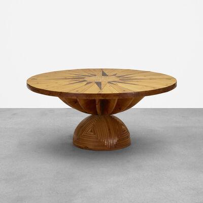 Mario Ceroli, 'Rosa Dei Venti Table', 1974