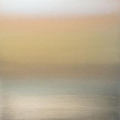 Miya Ando, 'Kasumi Mist Gold Turquoise', 2018