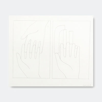 Geoff McFetridge, 'Hands and Hand Shapes 2', 2018