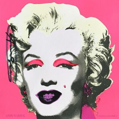 Andy Warhol, 'Marilyn (Castelli Graphics Announcement)', 1981