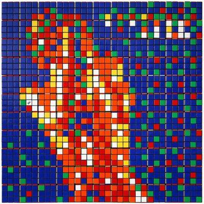 Invader, 'Rubik Raw Power', 2009