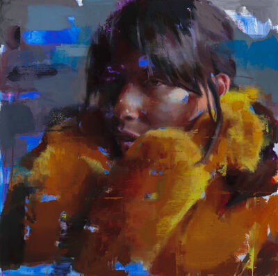 Jérôme Lagarrigue, 'Thais with Yellow Fur', 2018