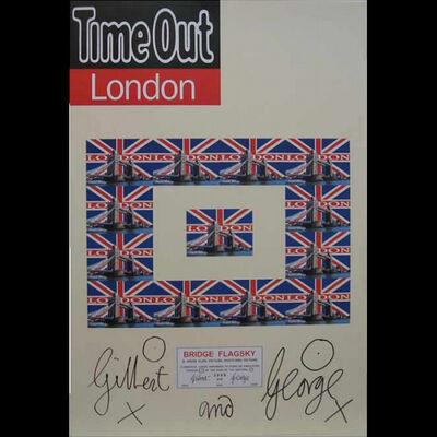 Gilbert & George, 'Tower Bridge Postcards'