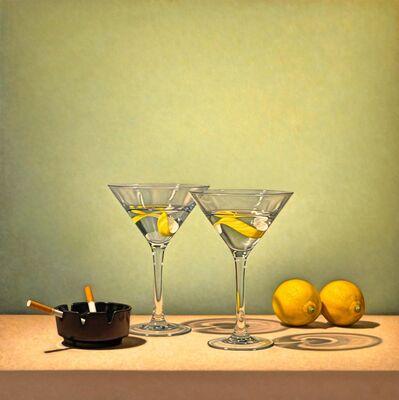 Tom Gregg, 'Martini, Lemons, and Cigarettes'