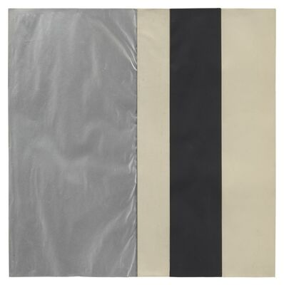Ellsworth Kelly, 'Black, White and Silver', 1952