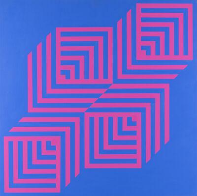 Edoardo Landi, 'Bistruttura cubica', 1986