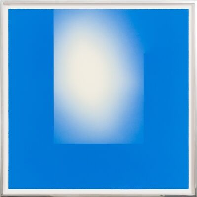 Brian Eno, 'Helica Cook's Blue (Heads)', 2019