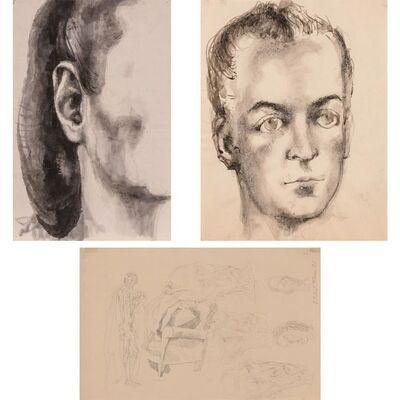 Pavel Tchelitchew, '(i) Untitled (T-29); (ii) Arturo Lopez Willshaw; (iii) Untitled (T-115)'