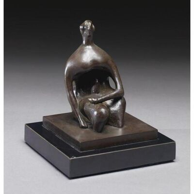 Henry Moore, 'Seated Figure: Thin Head', 1980-1984