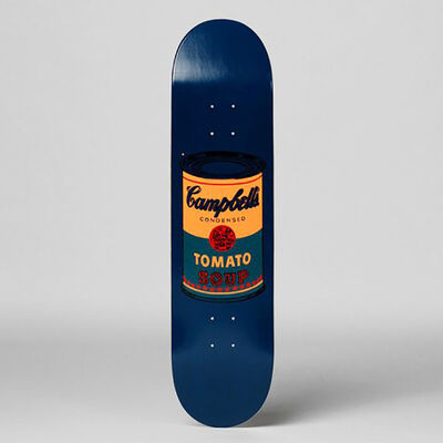 Andy Warhol, 'Campbell's Soup Can (Teal) Skateboard Deck', 2017