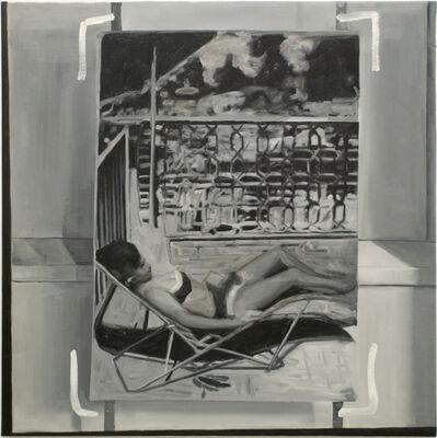 Greg Allen, 'Destroyed Richter Painting No. 4', 2012