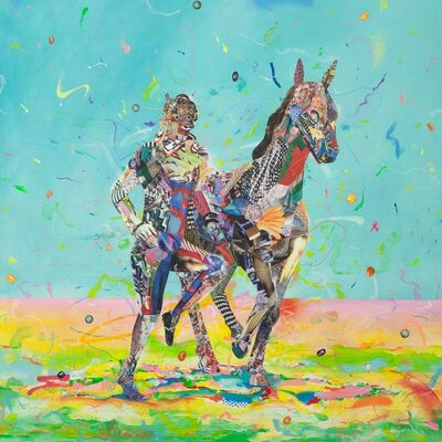 Yoh Nagao, 'Pace Maker- Horse', 2015