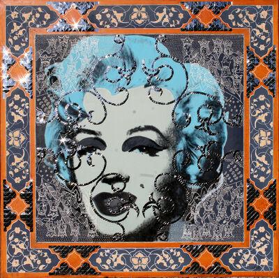 Mahmood Sabzi, 'Marilyn & Mirror', 2016