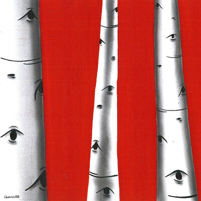 Natasha Miller, 'Trees are watching', 2017