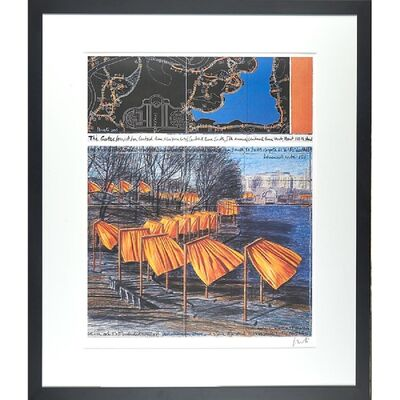 Christo, 'The Gates, Project for Central Park (Hand Signed) ', 2003