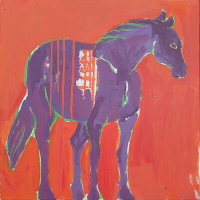 Marcel Kahhak, 'Horse/Purple', ca. 2010