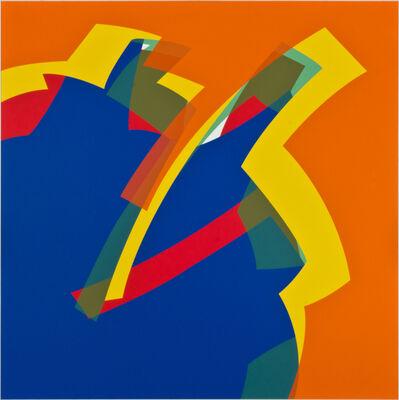 Manuel Ojeda, 'Azul - Naranja PCV', 2013